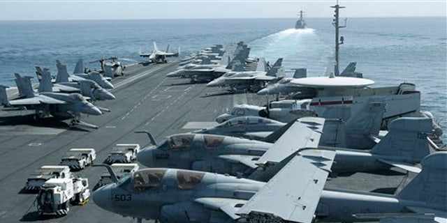 Westlake Legal Group straitofhormuzaircraftcarrier USS Lincoln strike group deployed to send Iran 'clear and unmistakable' message, Bolton says Samuel Chamberlain fox-news/world/world-regions/middle-east fox-news/world/conflicts/iran fox-news/us/military/navy fox-news/politics/foreign-policy fox-news/politics/executive/national-security fox news fnc/world fnc d109f4b5-05cb-5c8f-b823-34b36be63db6 article