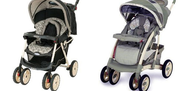 Graco MetroLite and Quattro Tour strollers.