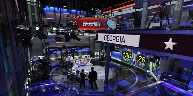 The two-story studio will bring Fox News Channel viewers all the latest information as America picks its next president.
