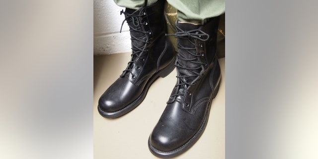 While we often think of combat boots as being basic black, the U.S. military only switched from brown to black in 1957. These leather boots remained in use well into the 1990s, and even saw extensive use at the start of America's role in Vietnam.