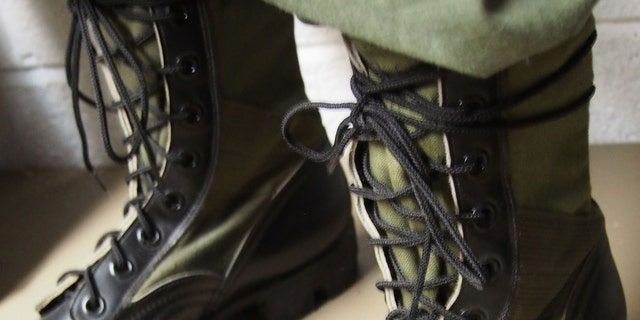 All leather combat boots weren't practical for jungle use, which is why the military developed the Jungle Boots prior to World War II. As with other combat boots these were originally brown but later in black along with nylon canvas. These boots were used in Vietnam, Grenada and Panama. It wasn't uncommon to see American soldiers with Jungle Boots in the Gulf War in 1991
