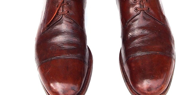 Tall leather riding boots were favored by American officers of means during and after World War I.