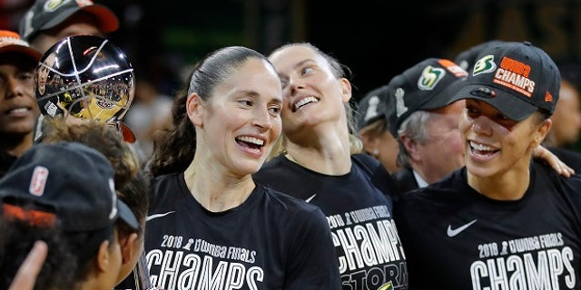 Sue Bird [left] said being invited to the White House was not the same as it used to be.