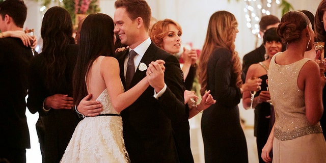 """Meghan Markle had two weddings in 2018, but one was a fictional version for the Season 7 finale of """"Suits."""""""