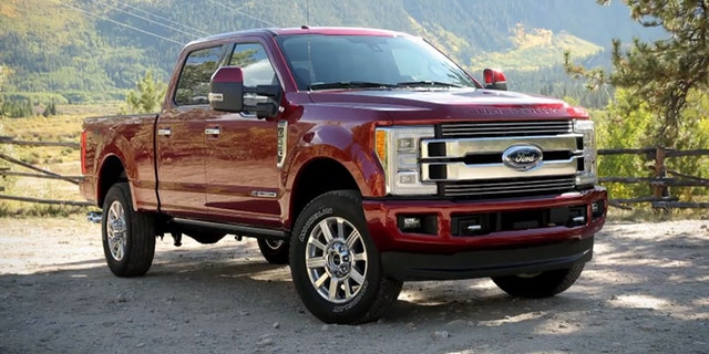 The 2018 F-Series Super Duty Limited is Ford's first $100,000 pickup | Fox News