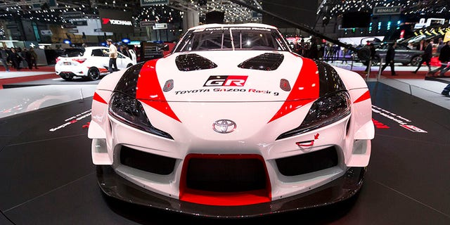 The production version of the Supra will be powered by a BMW inline-6-cylinder engine.