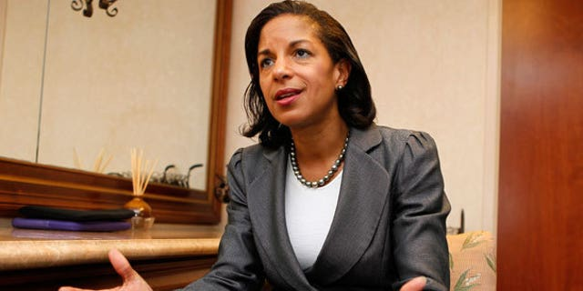 Rice is at the center of the unmasking controversy.