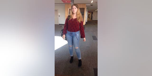 """Kelsey Anderson was given a dress code violation and labeled """"busty"""" and """"plus-sized"""" by her teacher, her mom claims"""