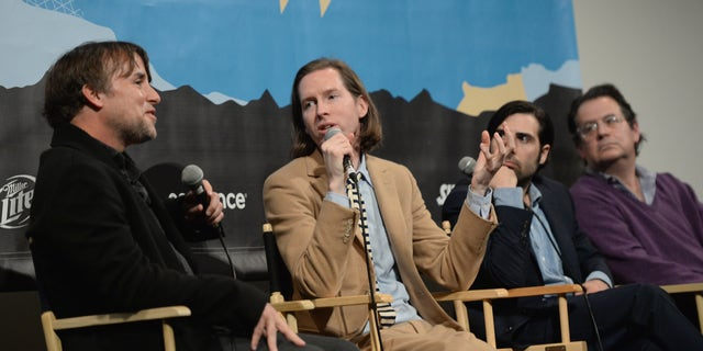 Directors Richard Linklater and Wes Anderson, actor Jason Schwartzman and music supervisor Randall Poster.