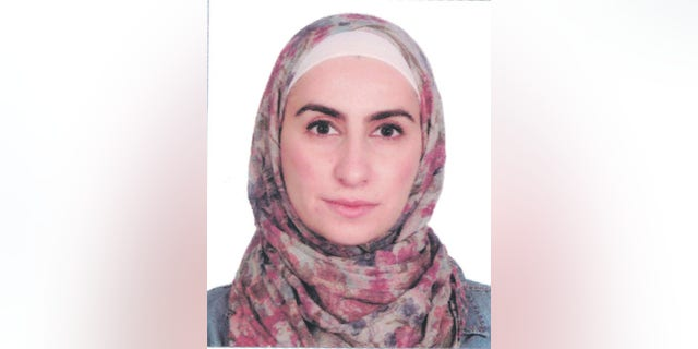 Noura Al-Jizawi, prominent activist detained for six months by the Syrian regime.