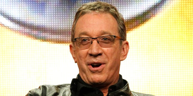 "Cast member Tim Allen answers a question during the ABC session for ""Last Man Standing"" during the 2011 Summer Television Critics Association Cable Press Tour in Beverly Hills, California August 8, 2011. REUTERS/Mario Anzuoni (UNITED STATES - Tags: ENTERTAINMENT) - RTR2PQD6"