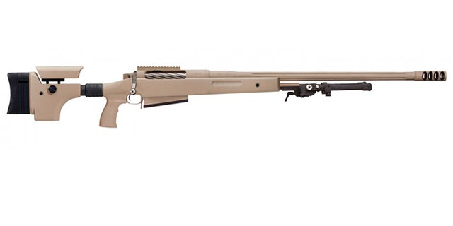 The McMillan TAC-50 is a .50-caliber weapon, and the largest shoulder-fired firearm in existence