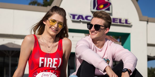 Yo can now dress like your favorite sauce packet thanks to the new Forever 21 x Taco Bell clothing line