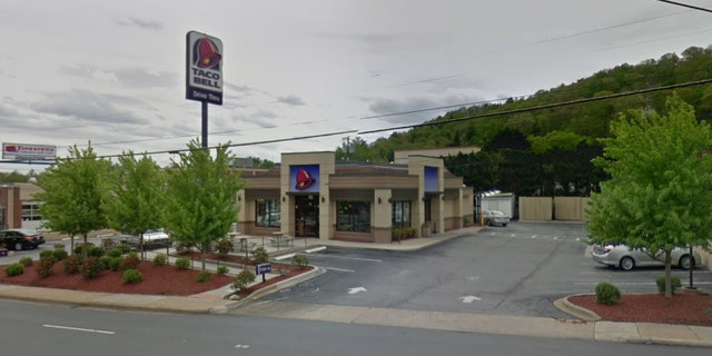 Police say they also received reports of a naked man outside a nearby Taco Bell, as well as a McDonald's and a Waffle House.