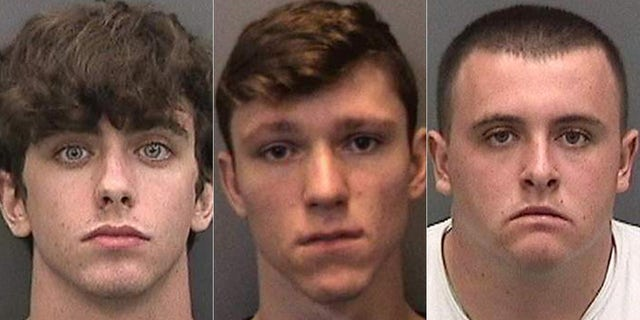Cameron Herrin, John Barrineau and Tristan Herrin all face charges in connection with the accident.