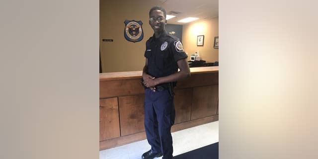 """""""His actions more than exemplify our commitment and dedication to public safety,"""" the police department said of the teen."""