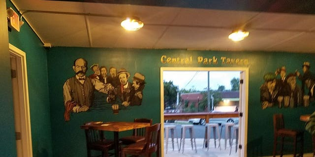 Central Park Tavern in Durham, NC.