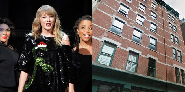 """Swift's neighbors on Franklin St. say she's attracting too much paparazzi — and the people who share her building claim her bodyguards hold the elevator for up to a half-hour just """"waiting for her"""" on the top floor."""