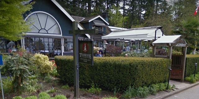 """A manager of the Teahouse in Stanley Park was fired after refusing to serve a man wearing a """"Make America Great Again"""" cap."""