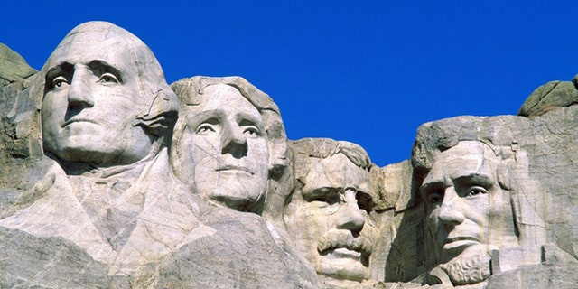Teddy Roosevelt was immortalized on Mount Rushmore in South Dakota, 260 miles south of his fabled ranch.