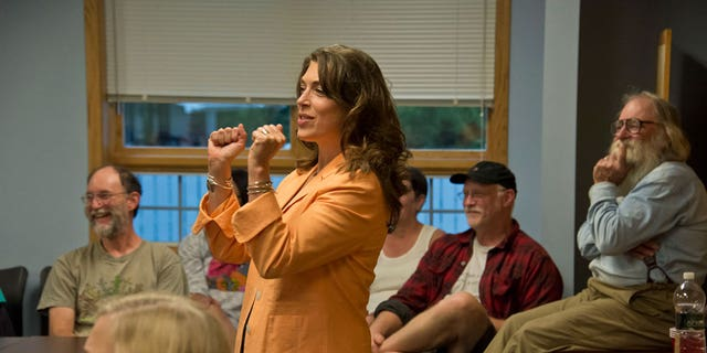 New York Democratic congressional candidate Tedra Cobb says she supports a ban on some firearms, but admitted that she wouldn't say so in public out of fear of losing the election.