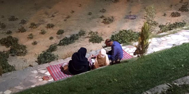 In Iran, families meet for picnics beneath the bridge, often bringing food, musical instruments and the water pipe known as a hookah or shisha.