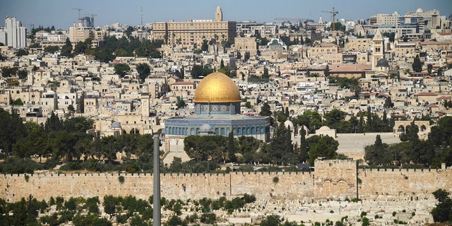 The shrine in Jerusalem is holy to both Jews and Muslims.