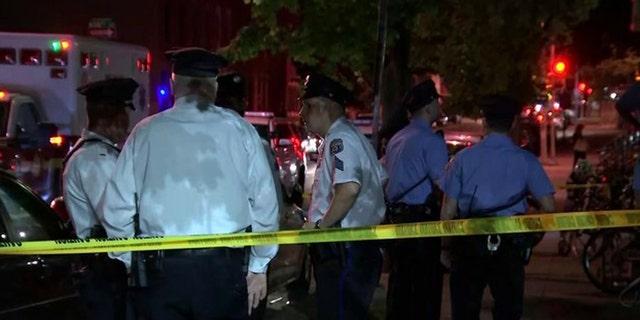 Daniel Duignam dead inside his first-floor apartment in North Philadelphia around 9:30 p.m. Saturday.