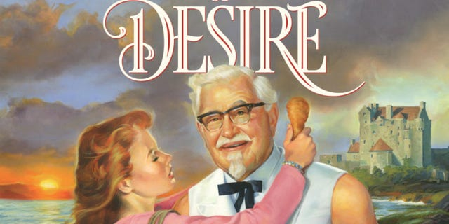"""KFC's kitchen got steamier when they released """"Tender Wings of Desire,"""" and 83-page romance novella."""