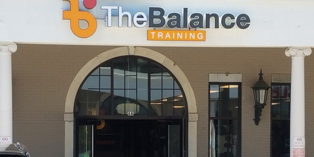 The Balance Training facility in Belle Meade where police said a man killed his ex-boss with a hatchet on Monday.