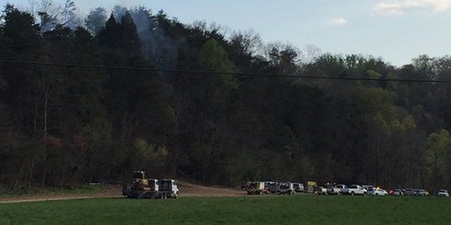 April 4, 2016: Five people were killed in a helicopter crash near Sevierville, Tenn.