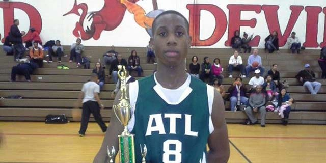 Terrell Coleman, 15, died after collapsing during a basketball game in Stone Mountain, Ga.
