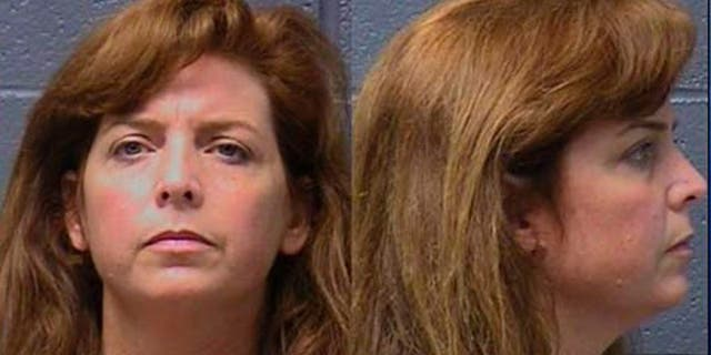 This undated photo combination provided by the Yuba County Jail shows Terri Horman, Kyron's stepmother at the time of his disappearance.