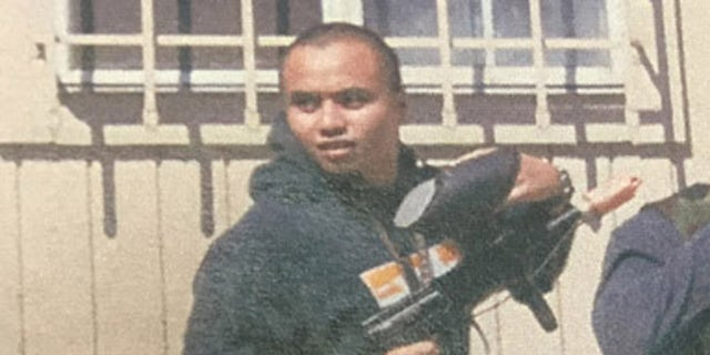 Deleon, shown here on surveillance video at a paintball facility, intended to kill U.S. military personnel in Afghanistan.