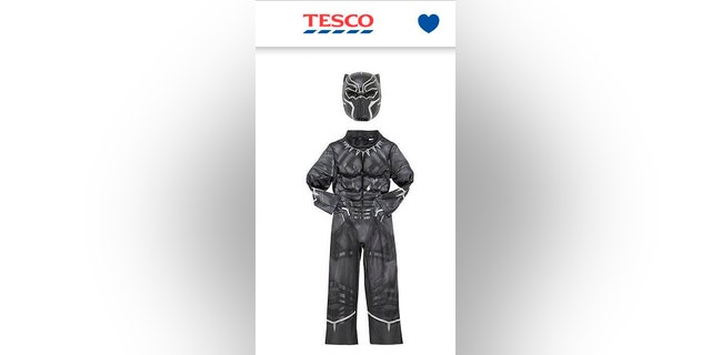 """Tesco apologized after it mislabeled the """"Black Panther"""" costume as """"Dark Panther."""""""