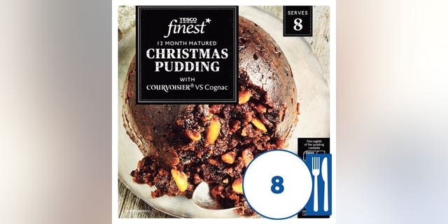 Tesco's Finest Christmas Puddings, which retail for 8 pounds (a little under $11) each, will be presented to all royal staffers.