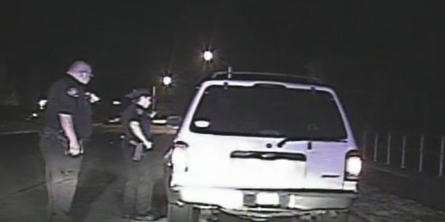 A Texas officer was nearly hit during traffic stop for the second time in two weeks.