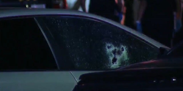 An off-duty San Antonio police officer was shot 6 times during a road rage incident, officials said.