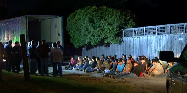 More than 50 illegal immigrants were found in a semi-truck on the Northeast of San Antonio on Tuesday.