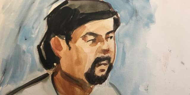 Thanh Cong Phan in court on Tuesday.
