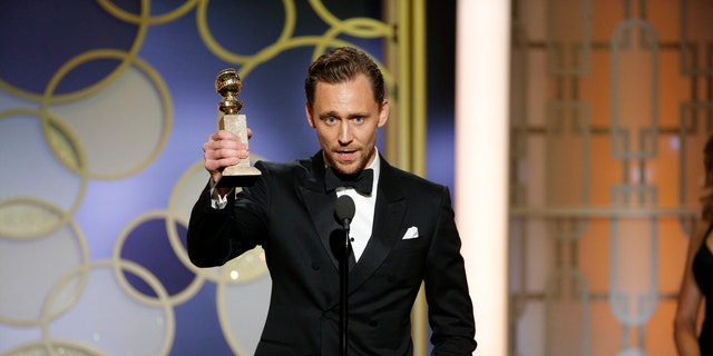 Tom Hiddleston, pictured here at the 74th Annual Golden Globe Awards in January 2017, is set to make his Broadway debut this summer.