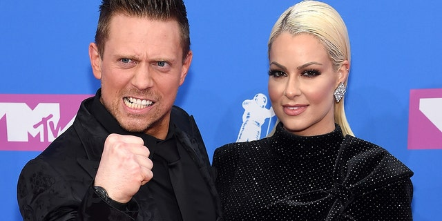 The Miz and his wife Maryse talked about becoming new parents while on the carpet at the 2018 VMAs in New York City.