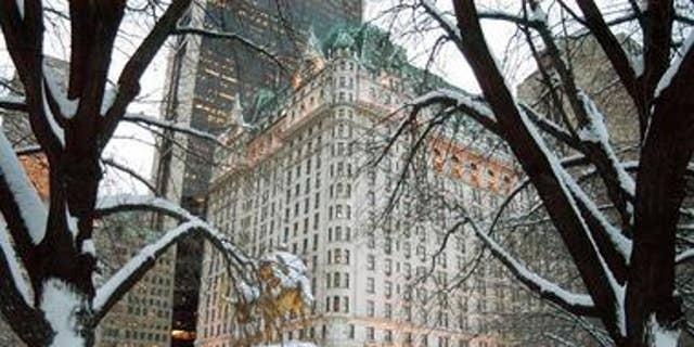 New York's Plaza Hotel.