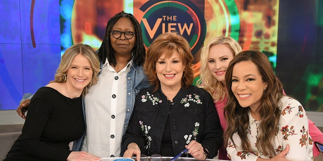 'The View' panel discussed the ongoing feud between Donald Trump and Joe Biden during Thursday's broadcast.