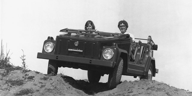 The thing wasn't a 4x4, but could handle some rough terrain.