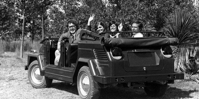 The rear-engine Thing was based on the Karmann-Ghia sports car.