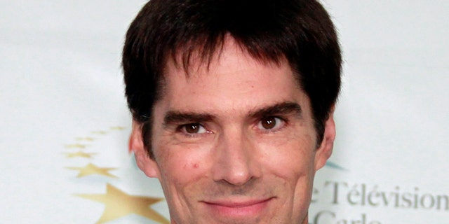 Actor Thomas Gibson who stars in the television series 'Criminal Minds' poses during a photocall at the 51st Monte Carlo television festival in Monaco June 8, 2011.   REUTERS/Eric Gaillard/File Photo - RTX2KF68