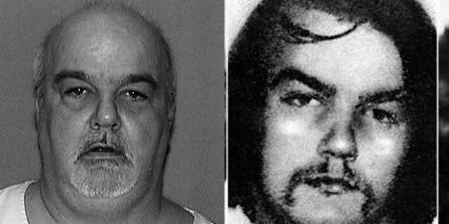 Thomas Kokoraleis in a recent photo and in an old mug photo.