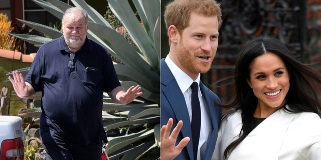 Meghan Markle's father, former Hollywood lighting director Thomas Markle (left), has spoken to the press numerous times about his famous daughter.