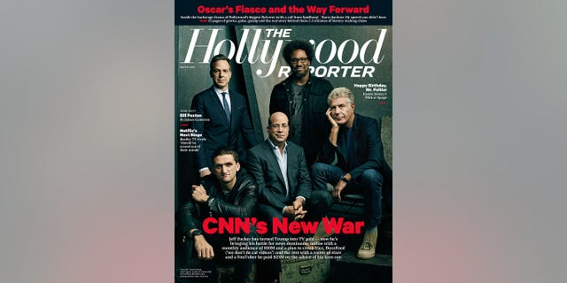 """Neistat's (lower left) failure at CNN is the latest debacle for Zucker (center), who oversees a network that is regularly mocked as """"fake news"""" by President Trump."""